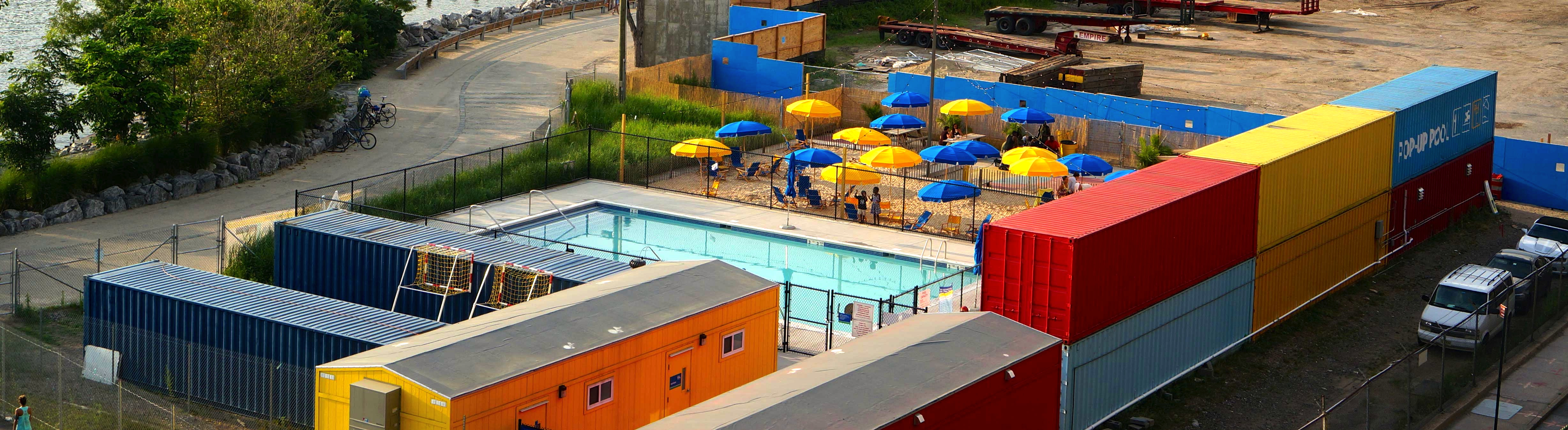 Time Out New York The Brooklyn Bridge Park Pop Up Pool Opens Thursday June 27 Lizzmonade